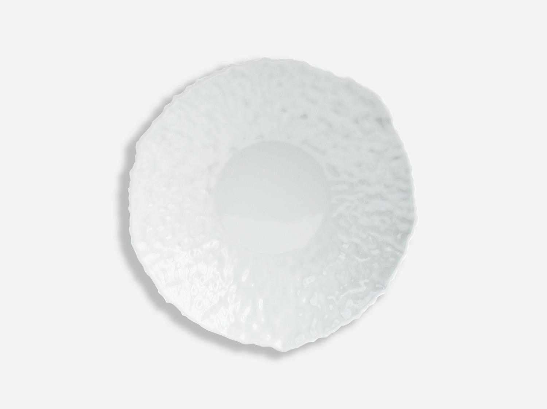 Assiette creuse Blanc / Blanc 23 cm en porcelaine de la collection ECORCE BLANC Bernardaud