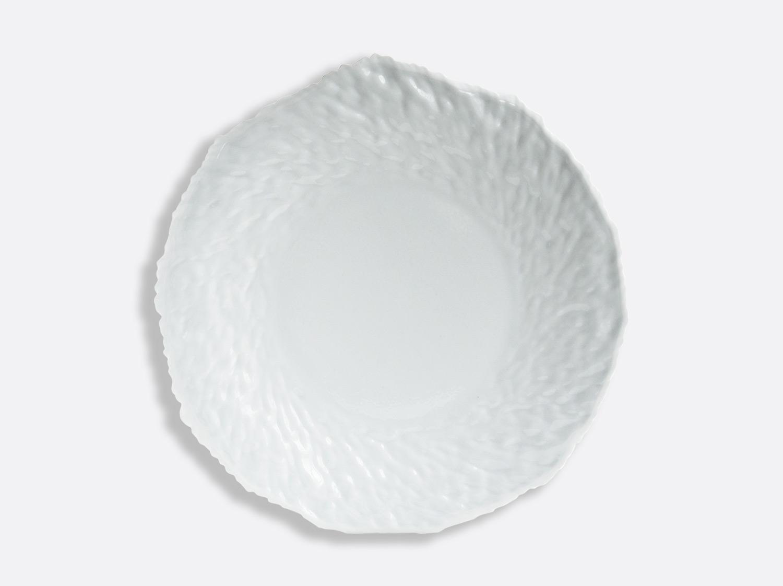 Assiette Blanc / Blanc 29 cm en porcelaine de la collection ECORCE BLANC Bernardaud