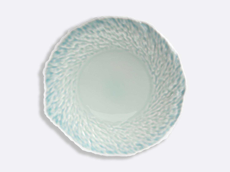 Assiette Céladon / Blanc 29 cm en porcelaine de la collection ECORCE CELADON Bernardaud