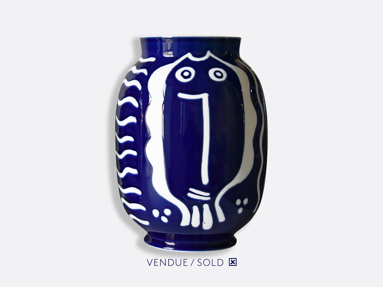 Vase toscan n°11 en porcelaine de la collection Atelier Buffile - Algues et Poissons Bernardaud