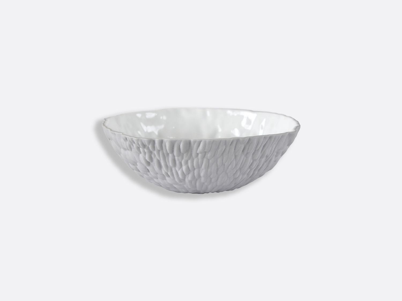 Bol Blanc / Gris 16,5 cm en porcelaine de la collection ECORCE BI-PÂTE BLANC/GRIS Bernardaud