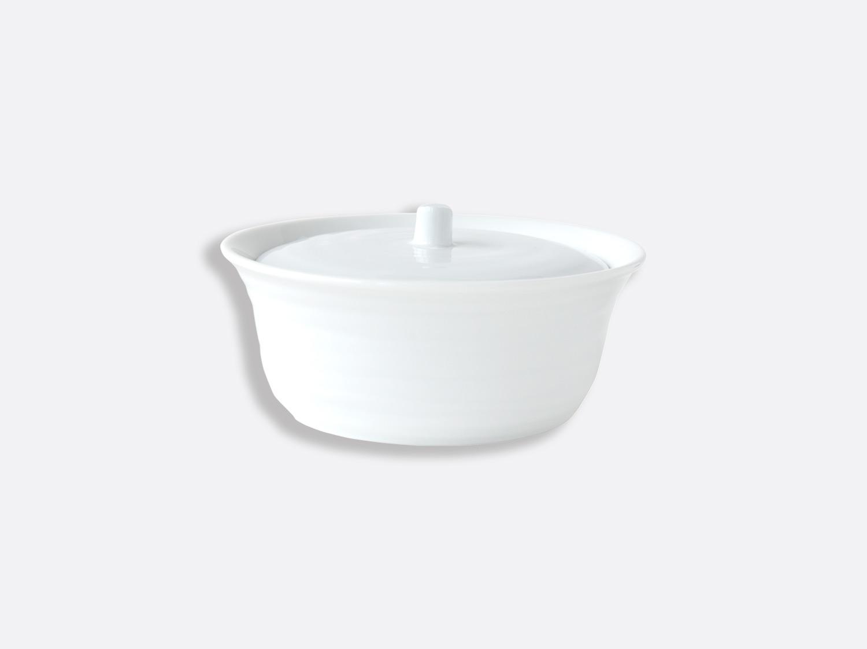 Marmite ovale 35 cl en porcelaine de la collection Origine Bernardaud