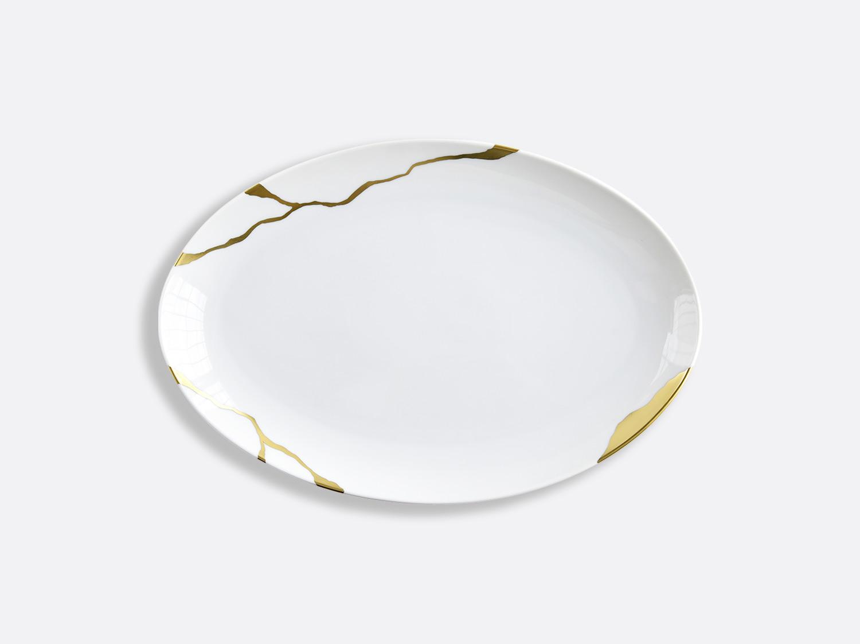 China Oval platter 33 cm of the collection Kintsugi | Bernardaud