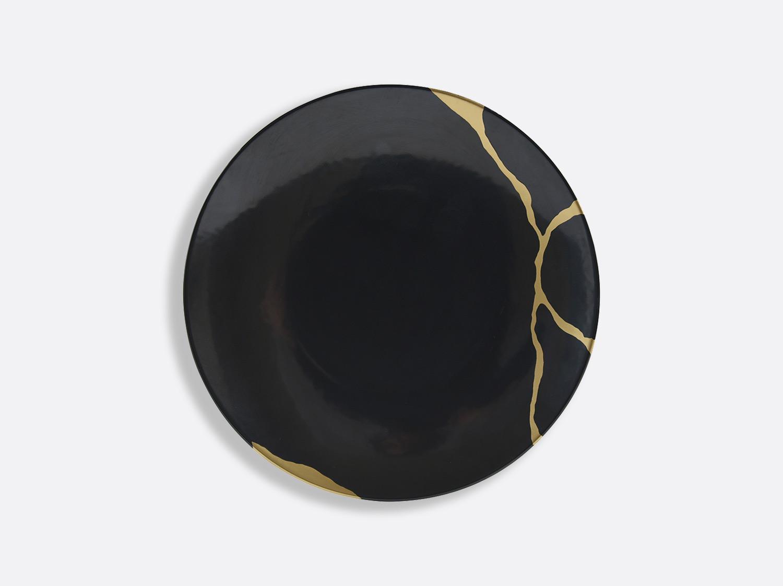 China Salad plate 21 cm Charbon of the collection KINTSUGI Charbon | Bernardaud