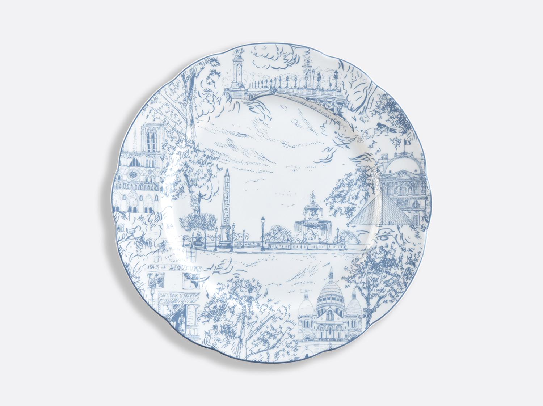 Assiette à dîner 26 cm en porcelaine de la collection Tout Paris Bernardaud