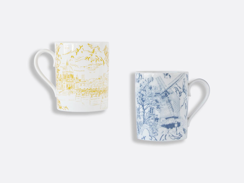 China Gift box set of 2 mugs 10 oz of the collection Tout Paris | Bernardaud