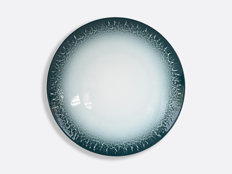 Assiette coupe 27 cm en porcelaine de la collection TERRA CALANQUE Bernardaud