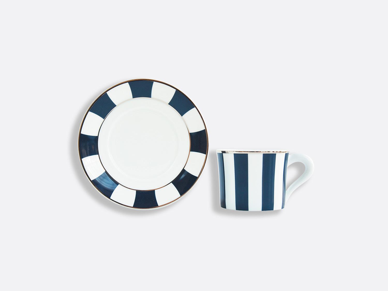 China カップ&ソーサー200ml  -  1点 of the collection Galerie Royale Bleu Nuit   Bernardaud