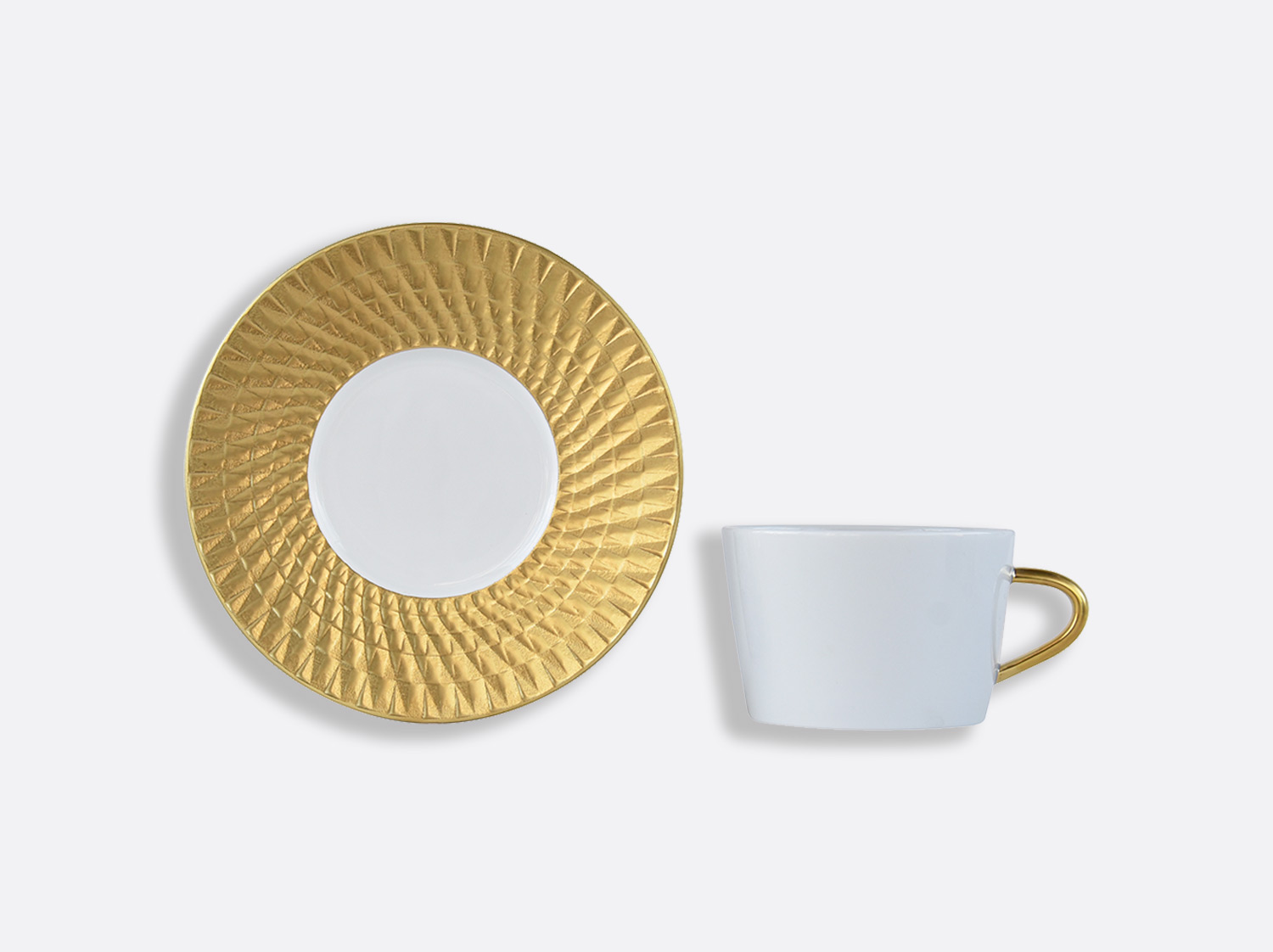 China Tea cup and saucer gift box - 20 cl - per unit of the collection Twist or | Bernardaud