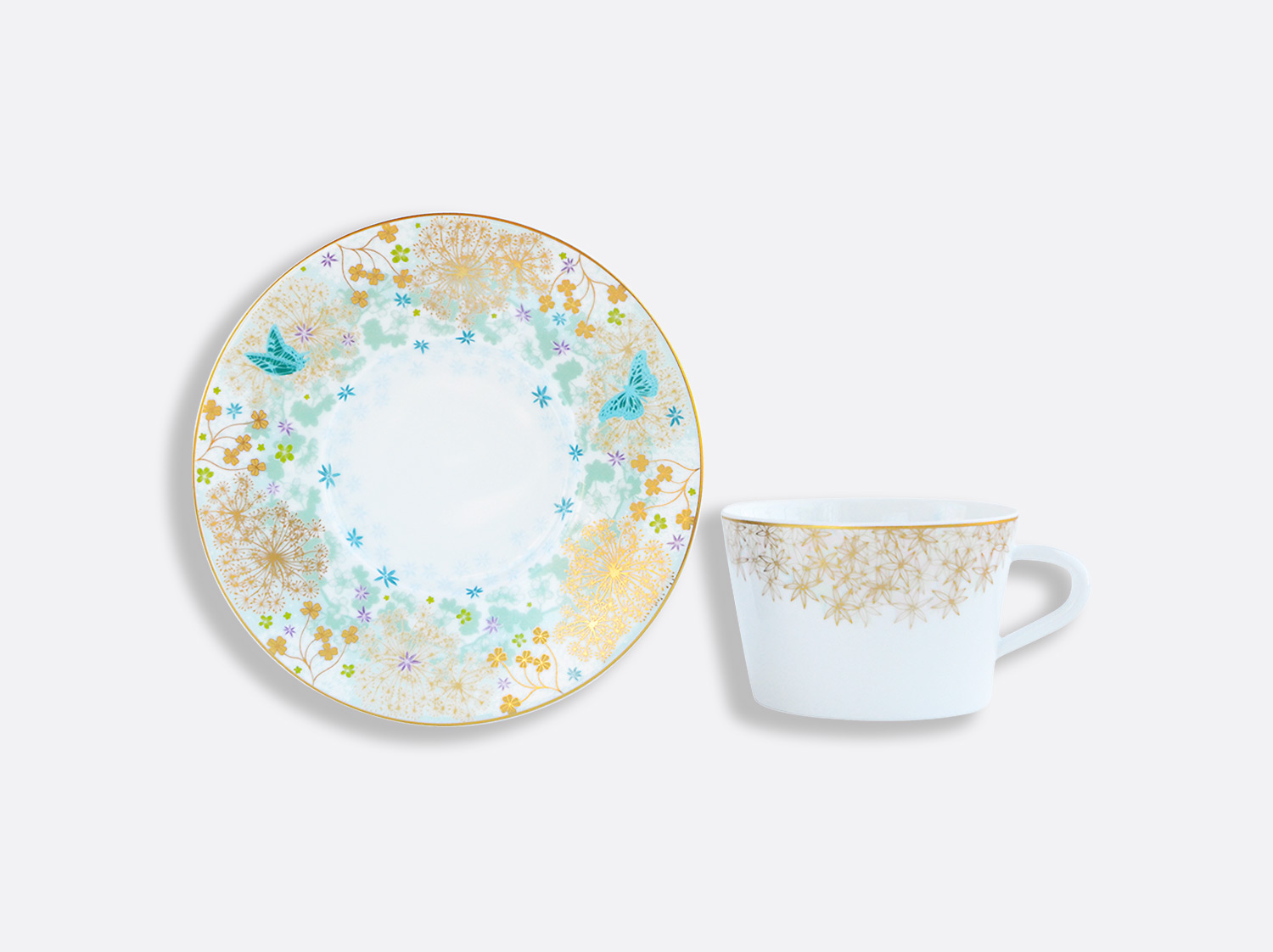 China カップ&ソーサー200ml - 1点 of the collection FÉERIE - MICHAËL CAILLOUX | Bernardaud
