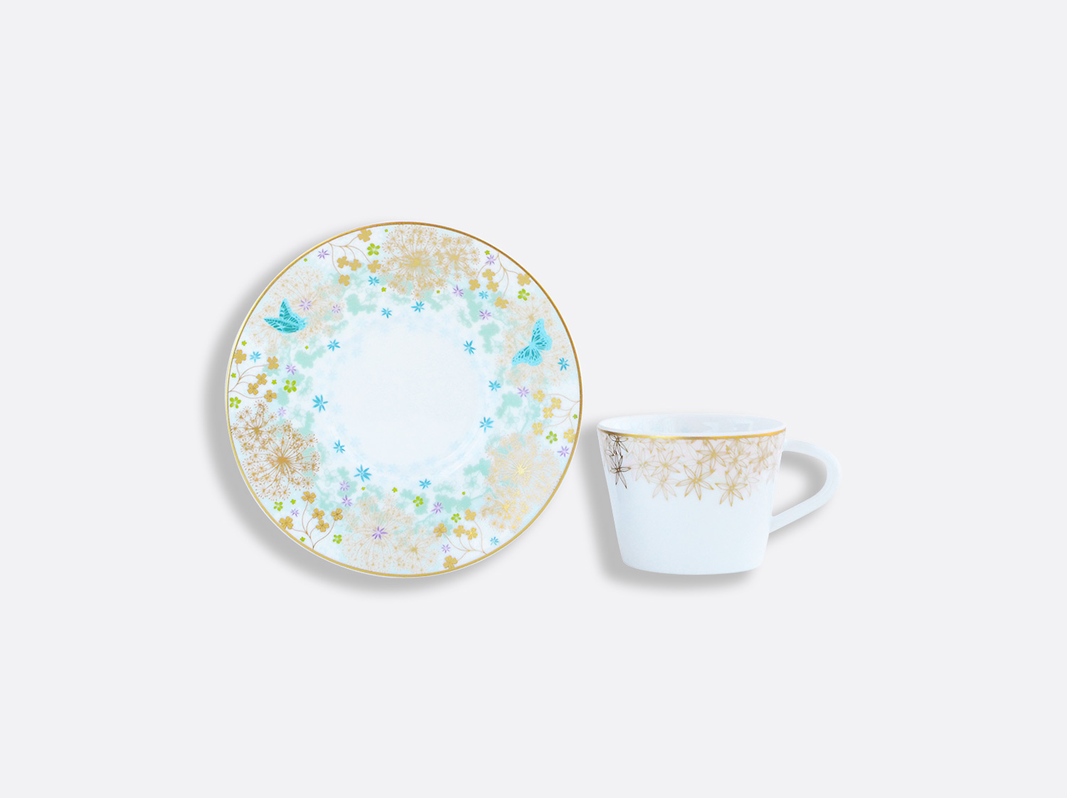 China Coffee cup and saucer gift box - 8 cl - per unit of the collection FÉERIE - MICHAËL CAILLOUX | Bernardaud