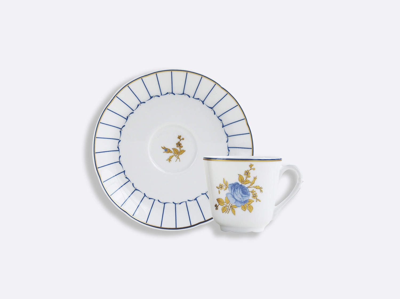 Coffret de tasses & soucoupes café 10 cl - A l'unité en porcelaine de la collection BROCANTE Bernardaud