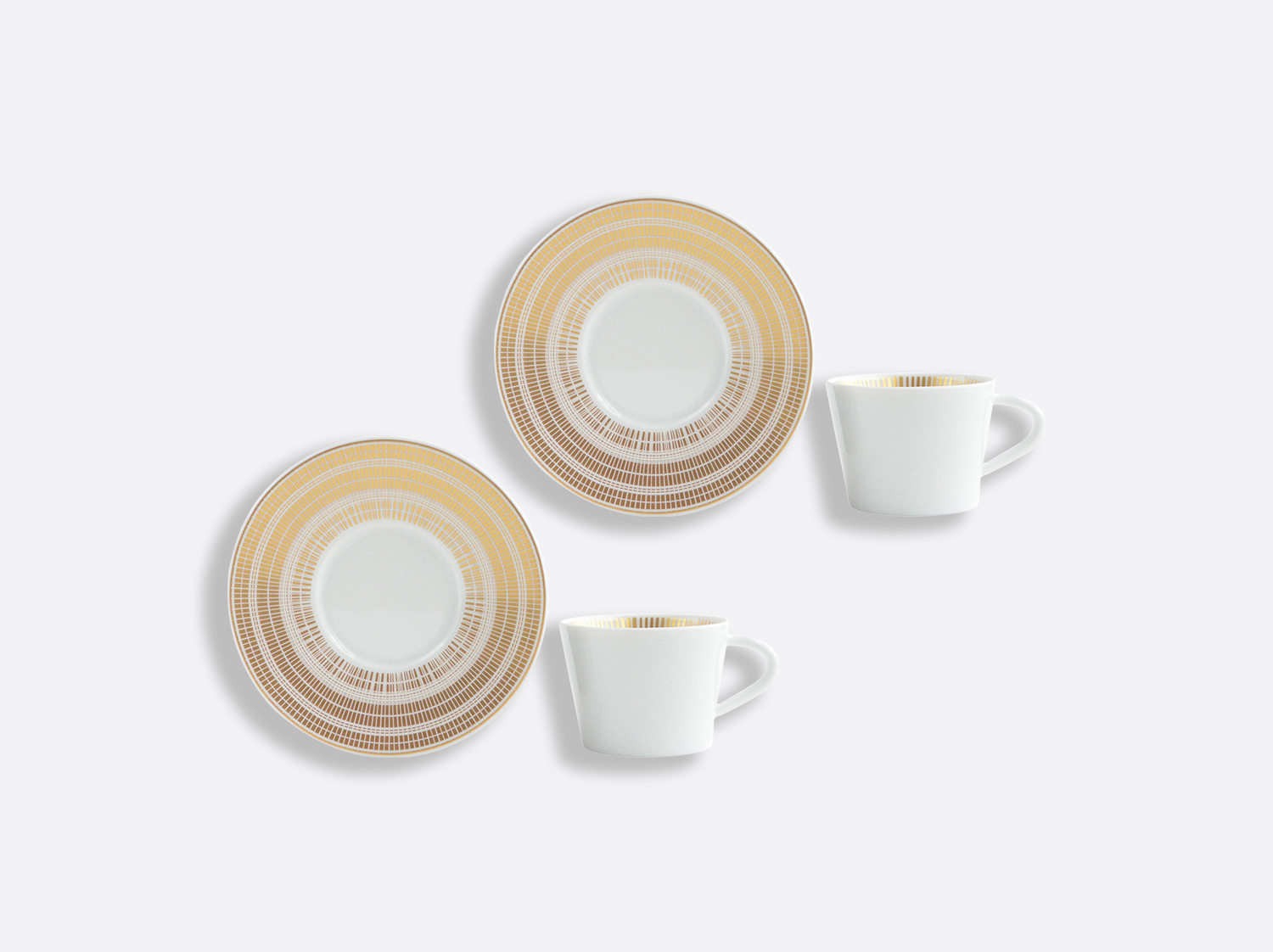 China Coffee cup and saucer gift box - 6 cl - Set of 2 of the collection CANISSE | Bernardaud