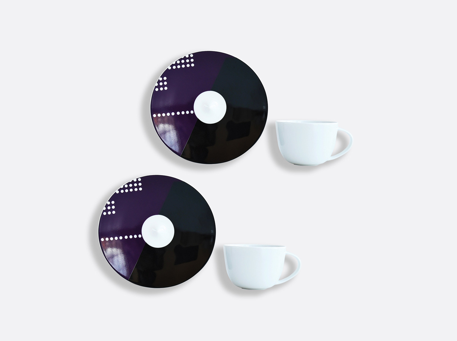 China Coffee cup and saucer gift box - 7 cl - Set of 2 of the collection OSCAR | Bernardaud