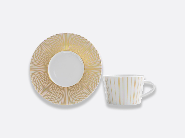 Coffret de tasses & soucoupes thé 20 cl - A l'unité en porcelaine de la collection Sol Bernardaud