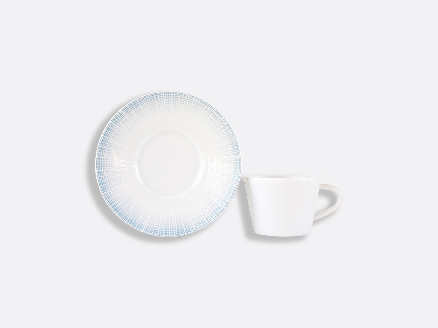 China Coffee cup and saucer gift box - 8 cl - Per unit of the collection Saphir Bleu | Bernardaud